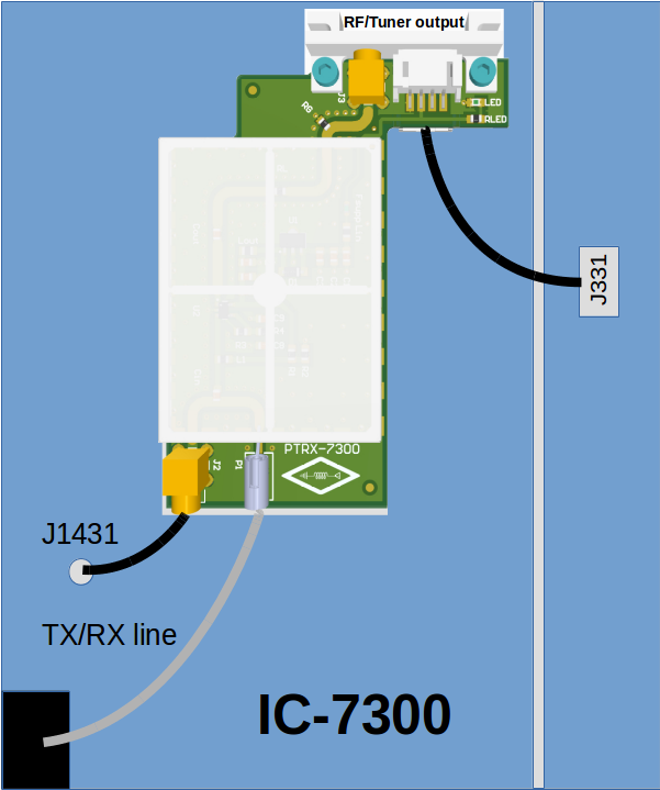 PTRX 7300 Installation Diagram by RadioSpectral