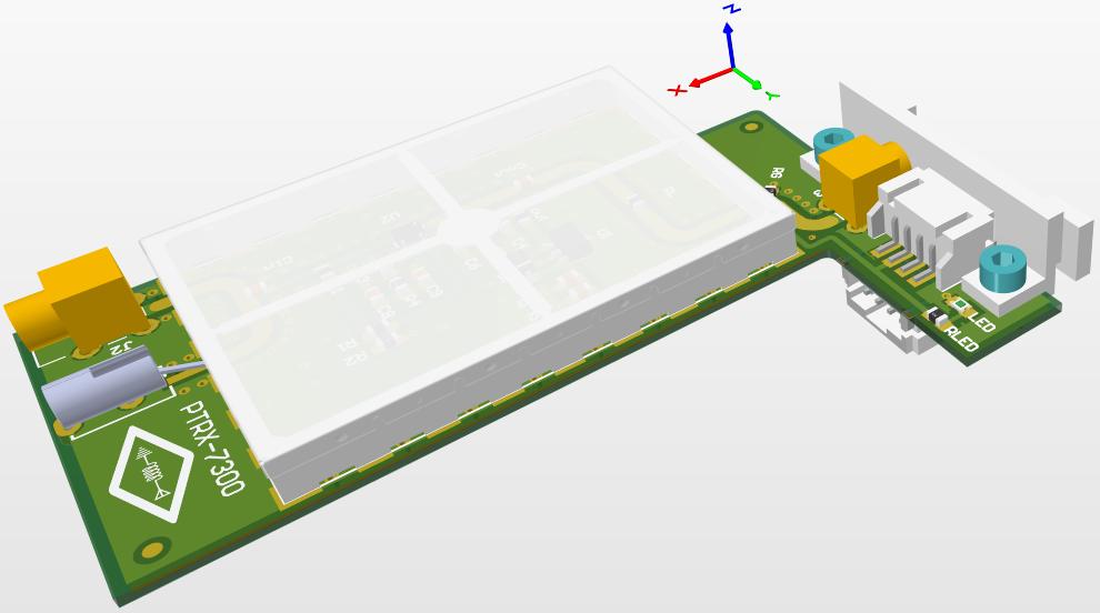 3D CAD Model of PTRX 7300