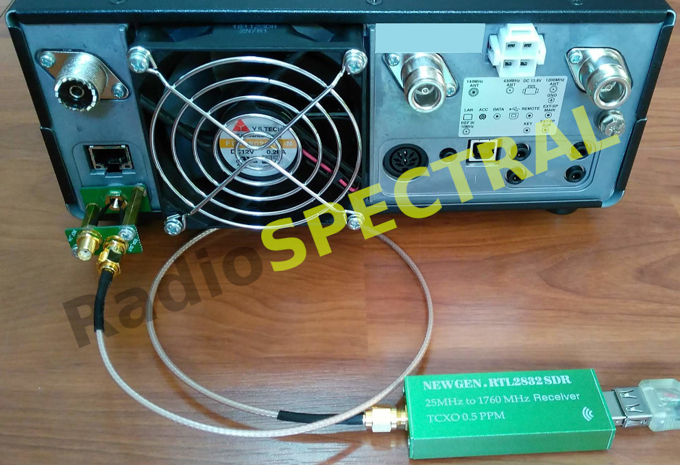 PTRX-9700 with SDR receiver